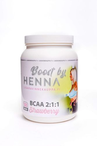 Boost by Henna BCAA 2:1:1 Strawberry 500g