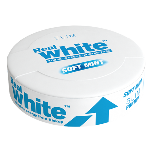 Kickup Real White, Mint SLIM, 20 pussia