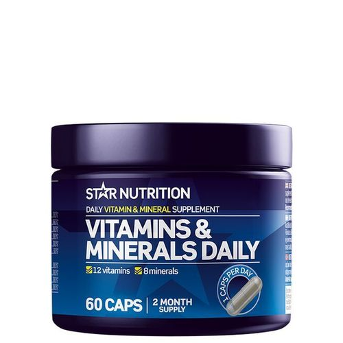 Star Nutrition Vitamins & Minerals Daily 60caps